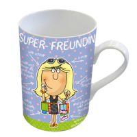 Einfach Super - Super Freundin - Henkeltasse