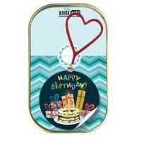 """Kuchen mit Wunderkerze """"Happy Birthday"""" (Kuchen mit Geschenken)"""