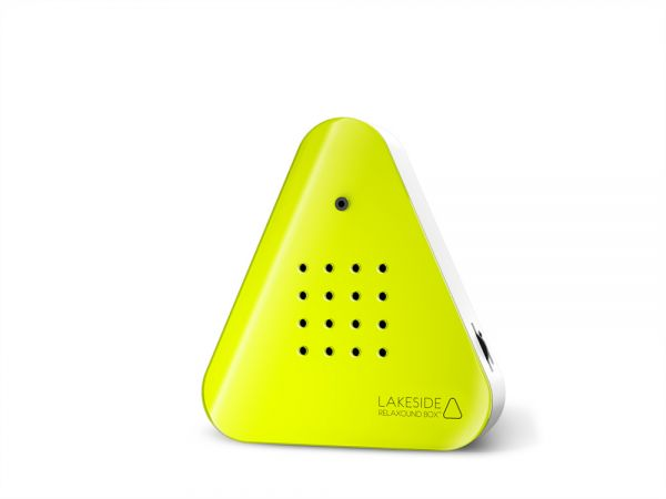 Lakesidebox - Neon-gelb