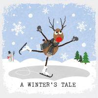 """Papierservietten """"A Winter's Tale"""""""