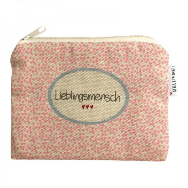 """Kleine Kosmetiktasche """"Lieblingsmensch"""""""