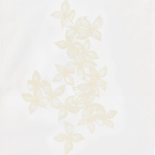 NIGRA BLANKA Tischläufer, Weiß bedruckt