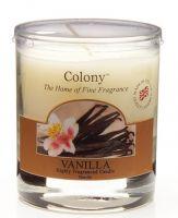 Duftkerze im Glas, klein - Vanilla (Vanille) 35 h