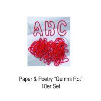 ABC Gummis, 26tlg., rot 10er Set