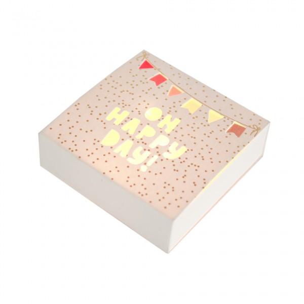 """Kleine Lichtbox """"Happy Day"""""""