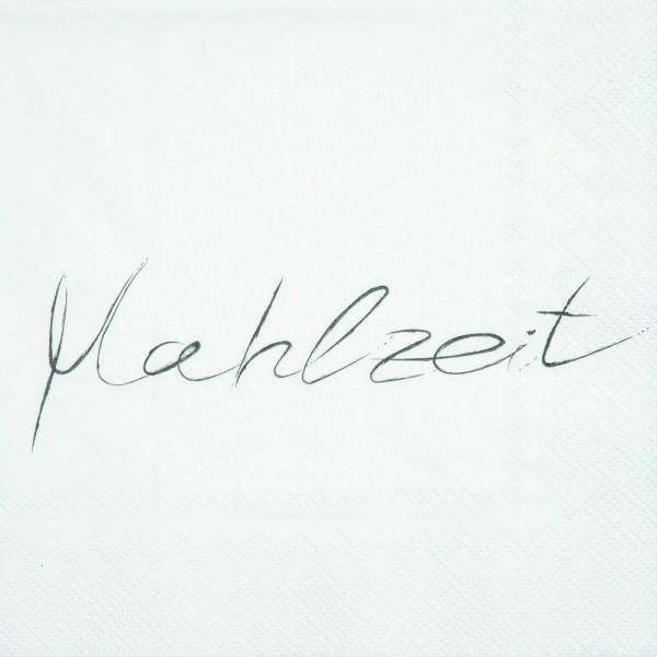 """Serviette """"Mahlzeit"""""""