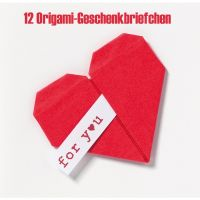 "Origami Mini Briefchen ""for you"" 12er-Set"