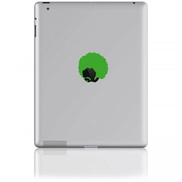 Sticker für Tablets Jimmy green