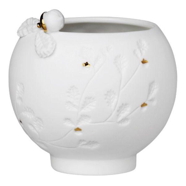 Zuhause Porzellangeschichten Teelicht Nuss