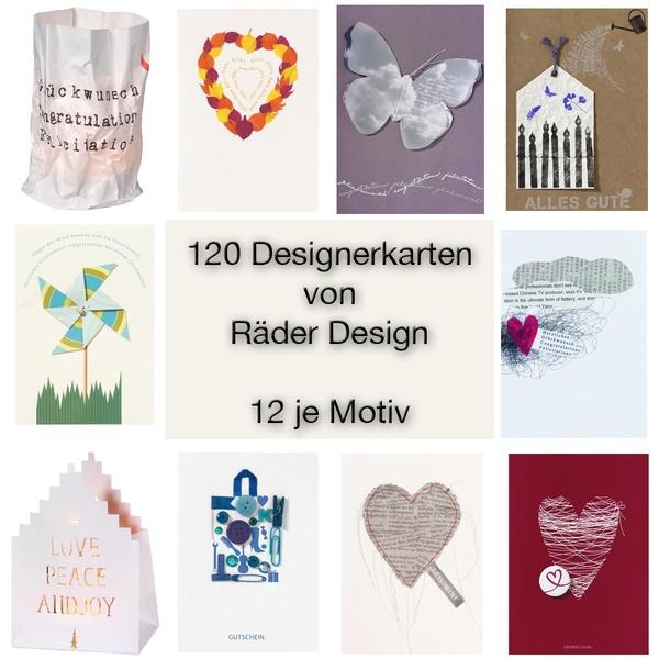 Designer Karten   Designerkarten Im Sparset Im Sparset Von Rader Design Hals Ueber