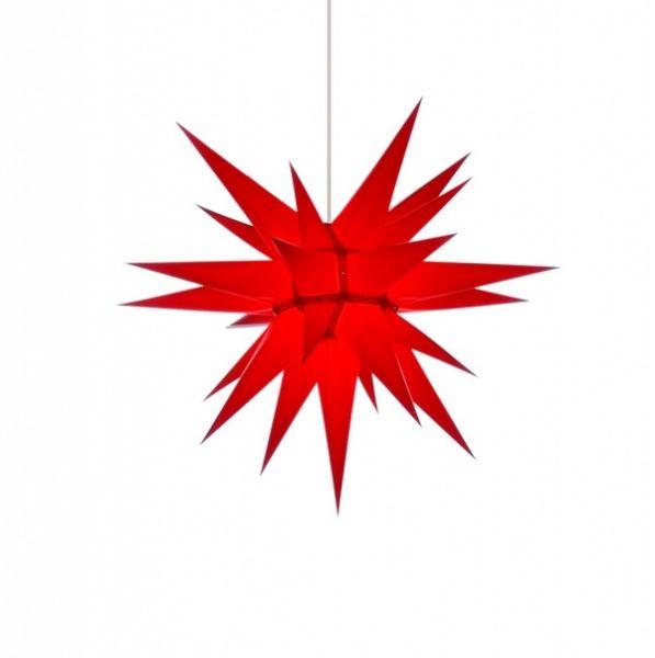 Weihnachtsstern für Innen, Rot 60 cm