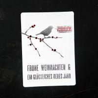 """Winter Postkarte """"Frohe Weihnachten"""""""