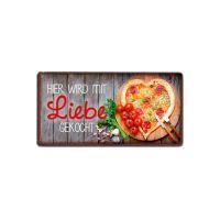 """la vida - Magnete für Dich :-) """"Hier wird mit Liebe gekocht"""""""