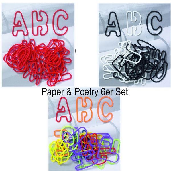 ABC Gummis, bunt, rot und schwarz-weiß, 26tlg., je Farbe 2 Beutel