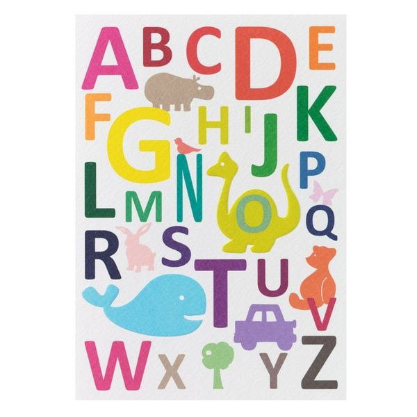 "Kinderkarte ""ABC"""