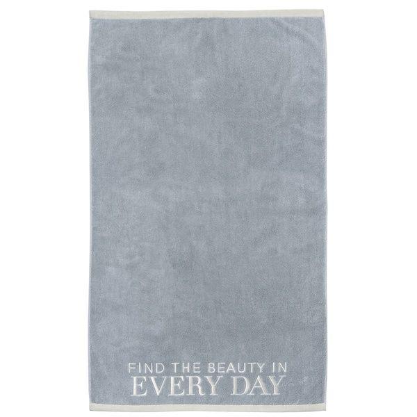 """Badetuch """"Every day"""", Blau"""