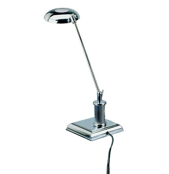 LED-Lampe - Edelchrom