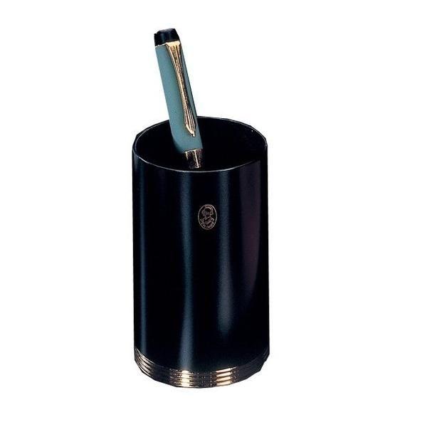 Stifthalter - Schwarz & 23-Karat vergoldet