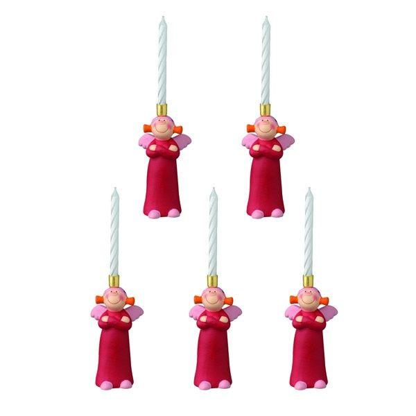 Rosine Kerzenhalter - Mini, 8 cm 5er Set