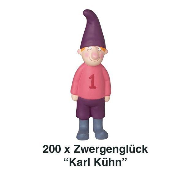 Räder, Zwergenglück - Karl Kühn 17 cm 200er Set