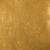 """Papierserviette in geprägter Spitzenstruktur """"GOLD"""""""