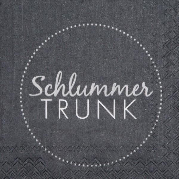 """Cocktailserviette """"Schlummertrunk"""""""
