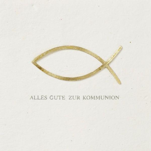 """Festtagskarte """"Alles Gute zur Kommunion"""""""