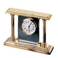 Kamin-Uhr - 23-Karat vergoldet