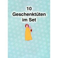 Geschenktüte Sternchen 10er Set