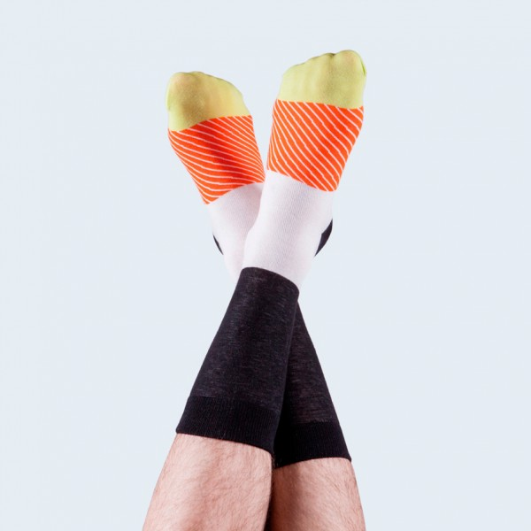 Maki Socks Salmon