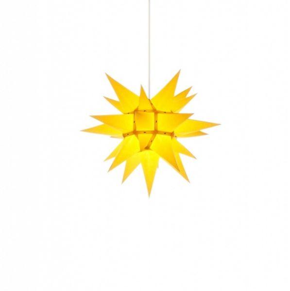 Herrnhuter Stern für Innen, i4 Gelb 40 cm