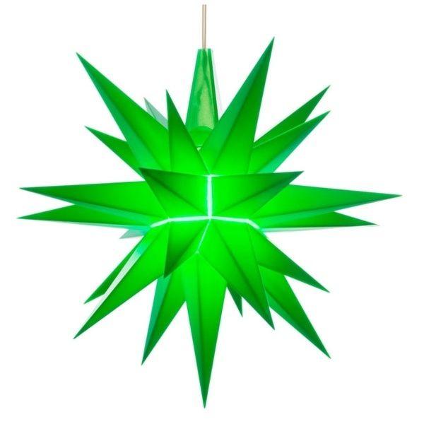 Weihnachtsstern für Innen, Grün 13 cm