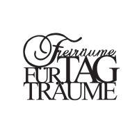 """Wandpoesie, klein """"Freiräume für Tagträume"""""""
