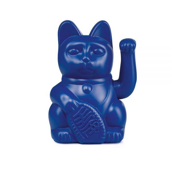 "Winkekatze ""Lucky Cat Dark Blue"""