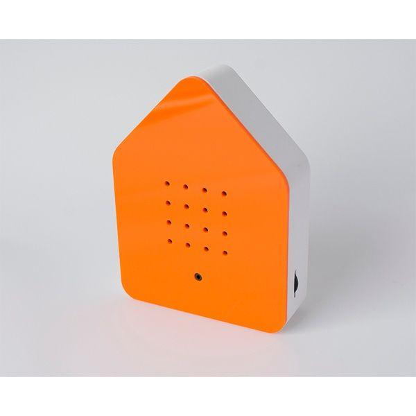 Zwitscherbox Klassik -orange-
