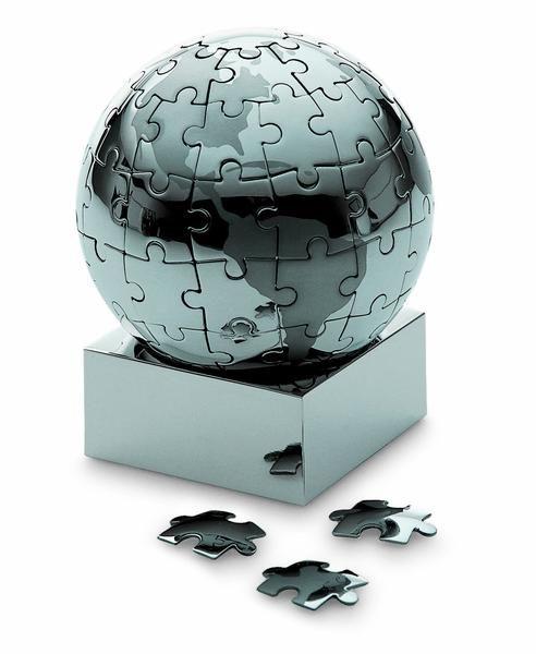Weihnachtsdeko Globus.Extravaganza Puzzle Globus
