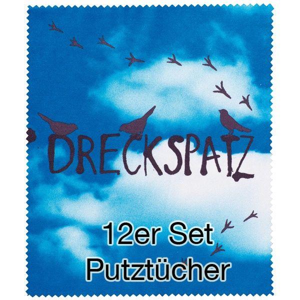 "Putztuch ""Dreckspatz"" 12er Set"