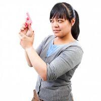 Pistolen-Seife Pink Lady