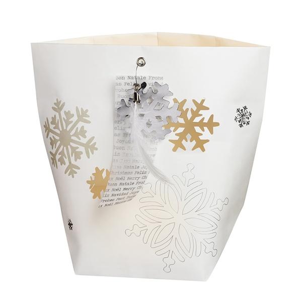 glanz papierlicht schneeflocke 2er set von r der design. Black Bedroom Furniture Sets. Home Design Ideas