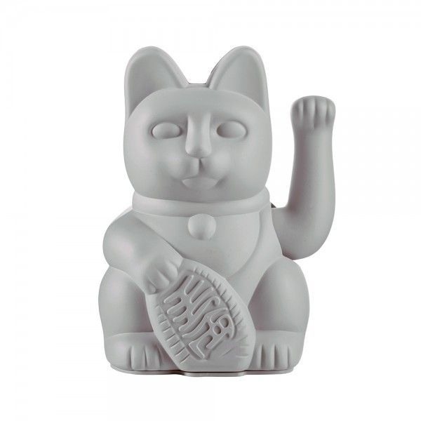 "Winkekatze ""Lucky Cat Grey"""