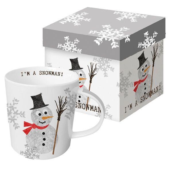 """XXL Henkelbecher """"I'm a Snowman!"""""""