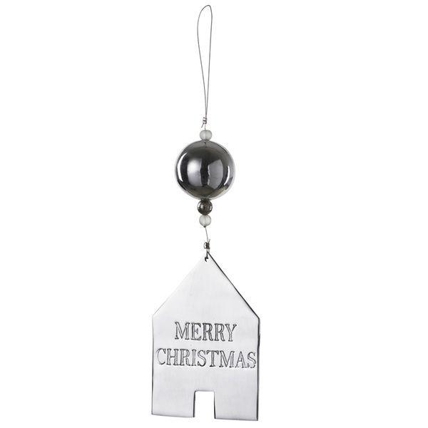 "Spiegelornamente ""Merry Christmas"""