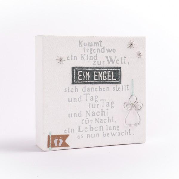 "Mini Leinwand ""Ein Engel"""