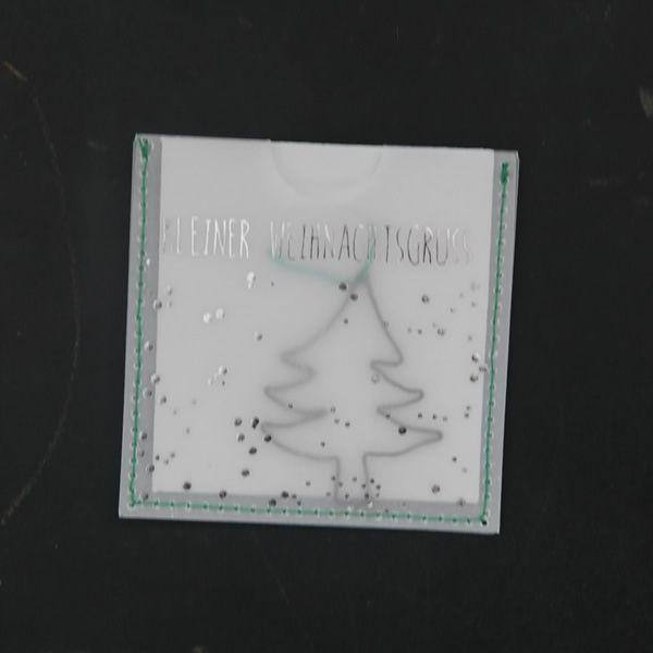 """Kleine Weihnachtsgrüße """"Tannenbaum"""""""