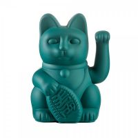 """Winkekatze """"Lucky Cat Green"""""""