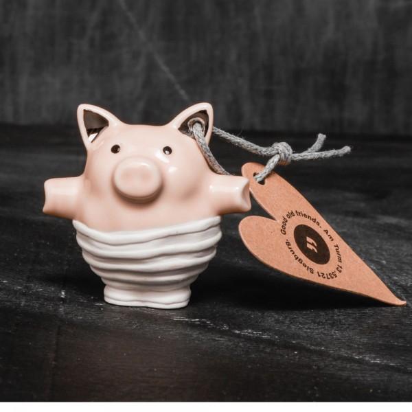 """Mini Schweine """"Streifen"""""""