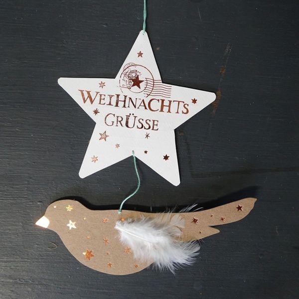 """Winter Luftpost """"Weihnachtsgrüsse"""""""