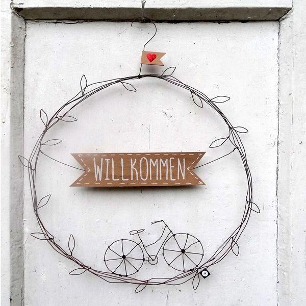 """Türkranz """"Willkommen"""""""