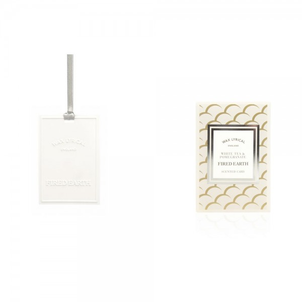Scented Card - White Tea & Pomegranate