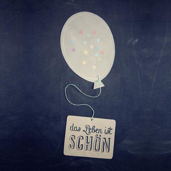 Ballonpost - Das Leben ist schön
